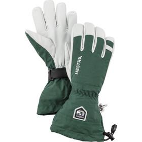 Hestra Army Leather Heli Ski Handsker, grøn